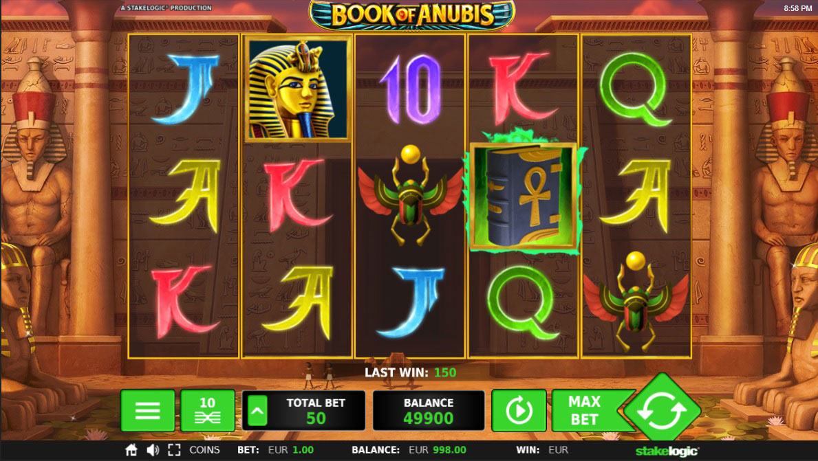 book of anubis gokkast