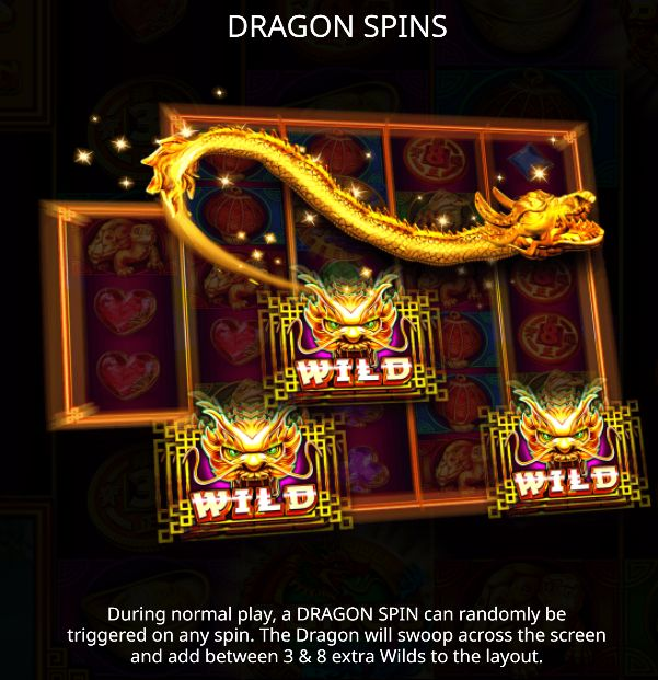 3888 Dragon spins