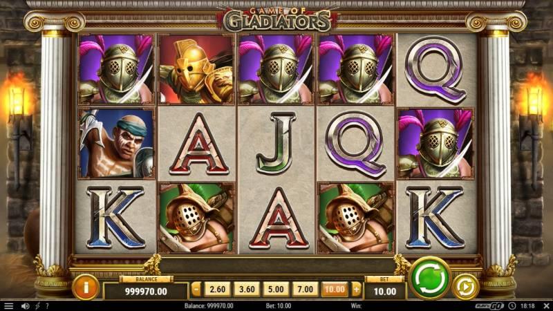Game of Gladiators Play 'n Go