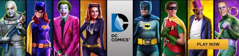 DC Comics gokkasten