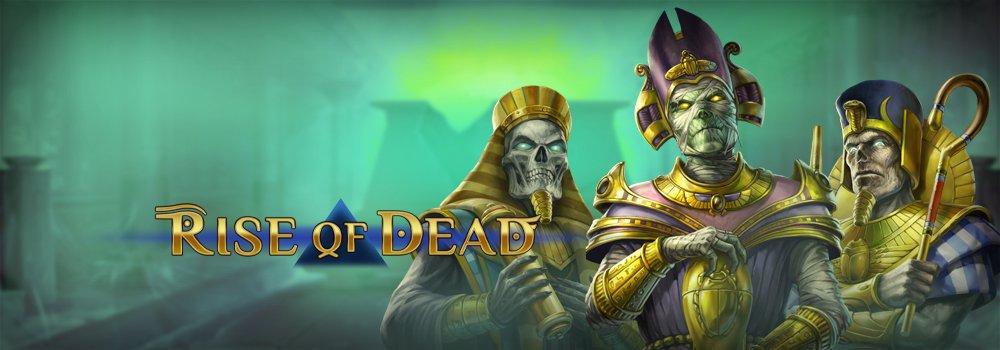 Rise of Dead gokkast Play'n Go